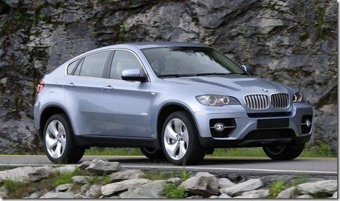 BMW também reve X6 ActiveHybrid