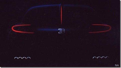 Bugatti apresentará 3 projetos que darão origem ao Bordeaux