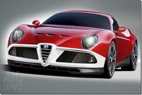 Alfa Romeo 8C poderá ganhar versão GTA em 2010