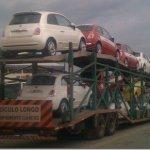 Primeiras unidades de venda do Fiat 500 começam a chegar ao Brasil.