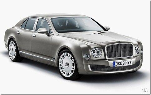 Primeiras imagens do Bentley Mulsanne