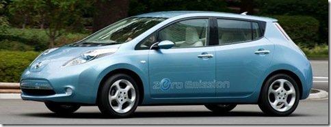 Nissan dá o troco á GM, e diz que o Leaf faz 156km com um litro de gasolina