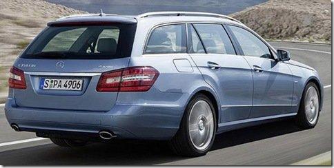 Mercedes divulga detalhes da versão perua do Classe E