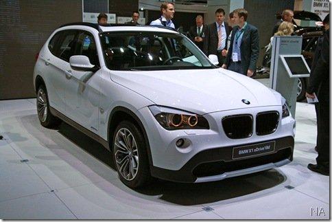 Salão de Frankfurt 2009 – BMW X1