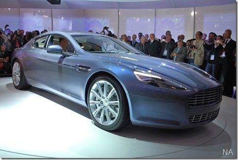 Salão de Frankfurt 2009 – Aston Martin Rapide