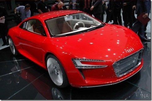 Salão de Frankfurt 2009 – Audi e-tron