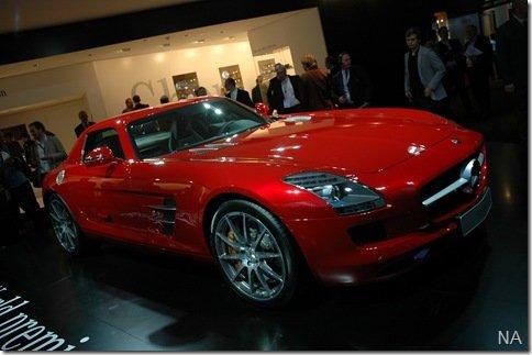 Salão de Frankfurt 2009 – Mercedes SLS AMG