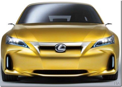 Novas imagens do Lexus LF-Ch em alta resolução