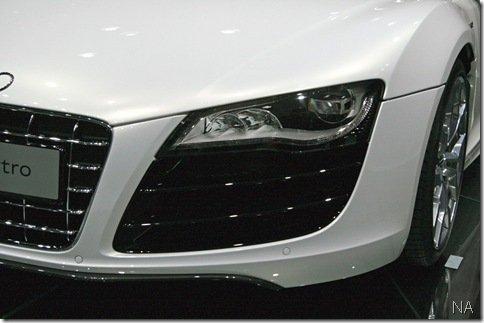 Salão de Frankfurt 2009 – Audi R8 Spyder