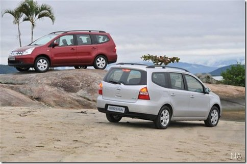 Nissan disponibiliza Grand Livina a passageiros da companhia aérea TAM