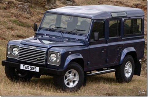Land Rover terá novo Defender em 2012
