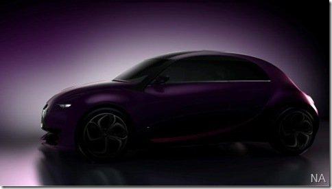 Citroën divulga mais um teaser do novo 2CV