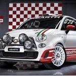 Abarth 500 ganha versão de rally