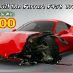 Site dá US$ 500 para quem adivnhar o primeiro acidente com a Ferrari F458 Italia