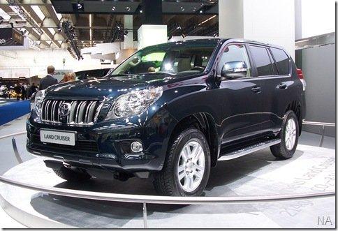 Salão de Frankfurt 2009 – Toyota Land Cruiser 2010