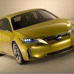 Nova imagem do Lexus LF-Ch