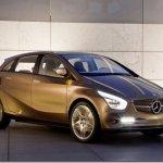 Mercedes–Benz BlueZero E-Cell Plus Concept, o conceito pré-produção do elétrico Mercedes