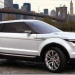 Land Rover LRX será produzido a partir de 2011