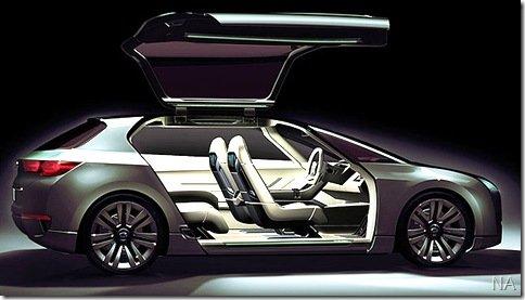 Subaru apresenta o conceito Hybrid Tourer que estará no Salão de Tóquio