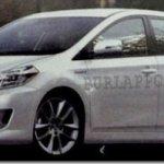 Projeções de como seriam a nova geração do Toyota Corolla e do Honda Civic