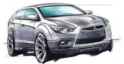 Mitsubishi lançará crossover compacto em 2010