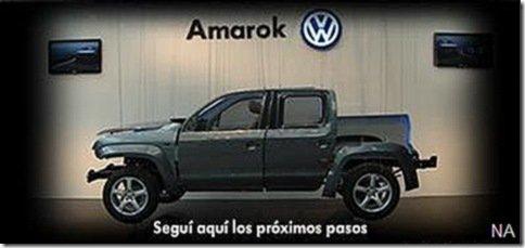 Volkswagen continua a revelar Amarok aos poucos