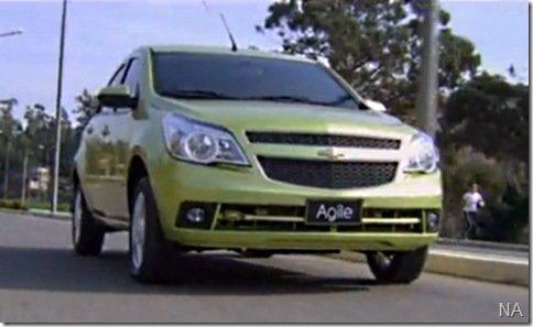 Video – O primeiro video oficial do Chevrolet Agile