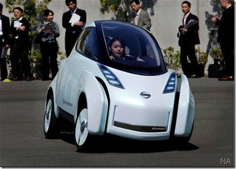 Nissan apresenta o Land Glider, um conceito elétrico inspirado nas motos