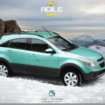 Argentino faz projeção do crossover derivado do Chevrolet Agile