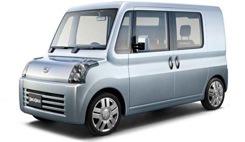 """Daihatsu mostra os """"caixotes com rodas"""" que serão apresentados no Salão de Tóquio"""