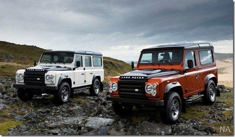 Land Rover Defender terá duas séries limitadas a venda no Brasil