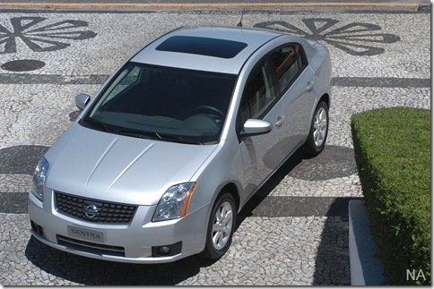 Nissan Sentra 2008 é chamado para recall