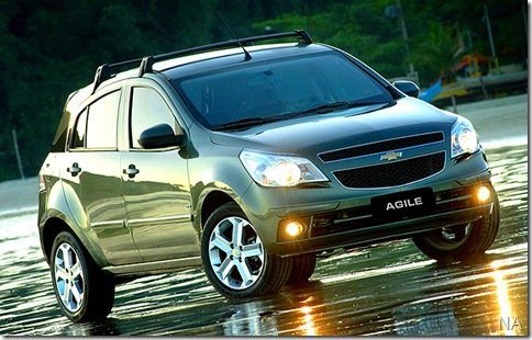 Chevrolet lança os Kits Sunny e Sport para o Agile