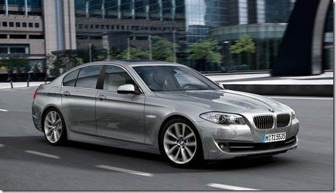 BMW apresenta o Serie 5 2010