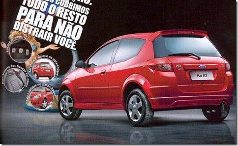Ford Ka 1.6 terá versão ST