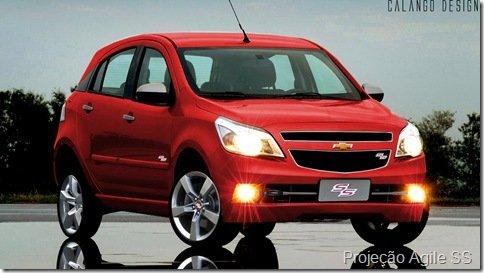 Chevrolet Agile terá kits de personalização vendidos nas concessionárias