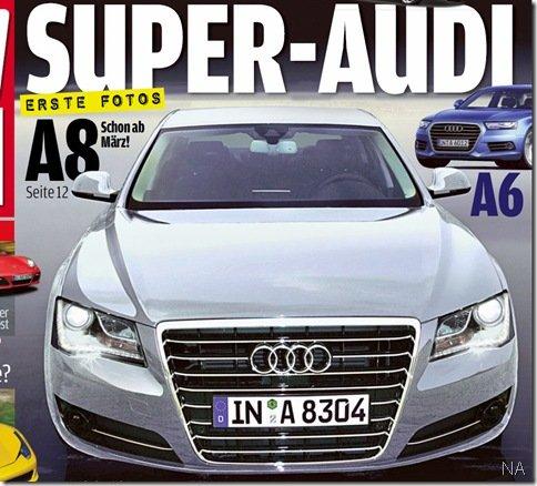 Novo Audi A8: Primeira imagem real?