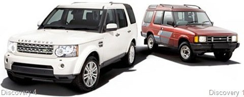 Land Rover Dyscovery completa 20 anos