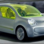 Renault Kangoo elétrico entrará em produção em 2011