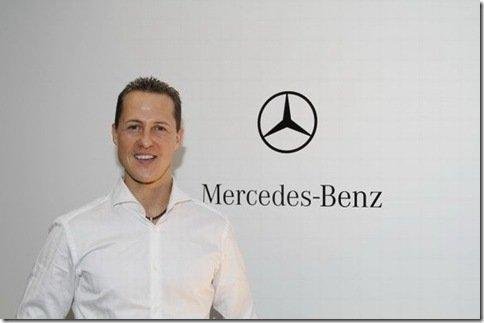 Agora é oficial: Schumacher na Mercedes GP em 2010