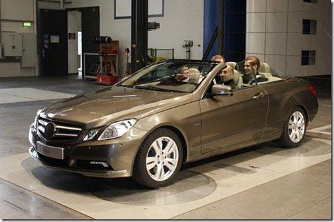 Primeiras imagens oficiais da Mercedes Classe E Cabriolet