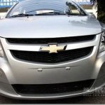Novo Chevrolet Sail é flagrado sem disfarces
