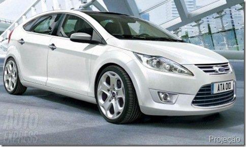 Terceira geração do Ford Focus será mostrada em Detroit