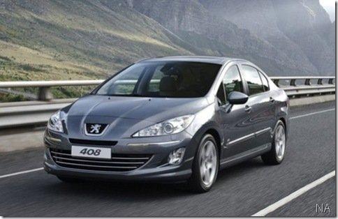 Peugeot apresenta 408 na China