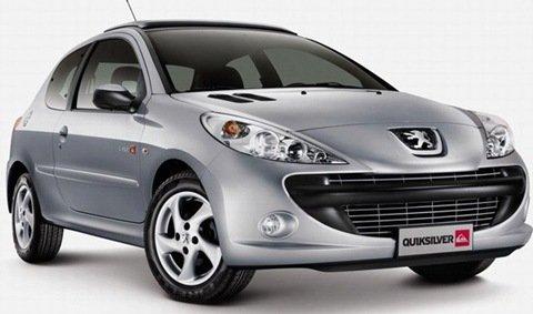 Peugeot 207 Quiksilver é lançado na Argentina