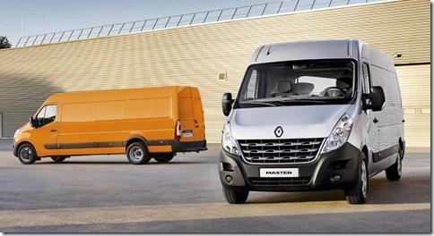Renault Master ganha nova geração na Europa