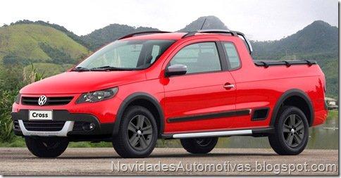 Projeção – Volkswagen Saveiro Cross