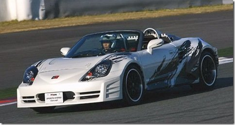 Toyota MR2 Sports Hybrid Concept é revelado