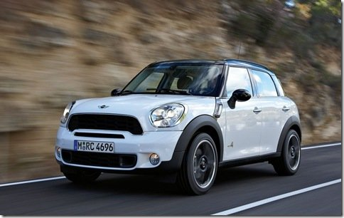 Mini Countryman é filtrado na internet