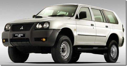 Pajero HD é o nome da versão pelada da Pajero Sport, e já está no site da Mitsubishi